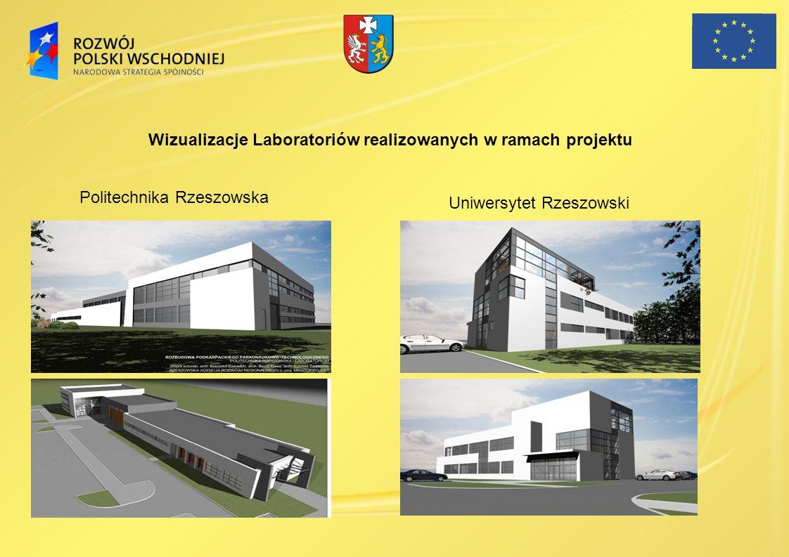 Wizualizacje Laboratoriów realizowanych w ramach projektu