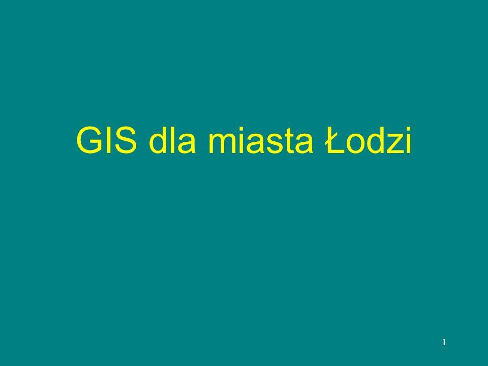 GIS dla miasta Łodzi