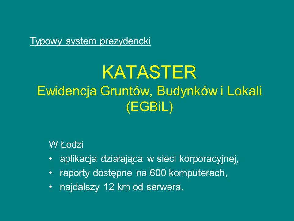KATASTER Ewidencja Gruntów, Budynków i Lokali (EGBiL)