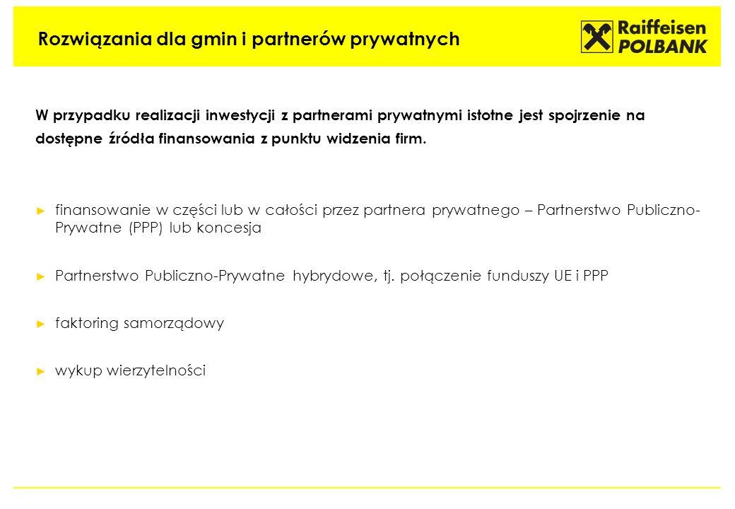Rozwiązania dla gmin i partnerów prywatnych