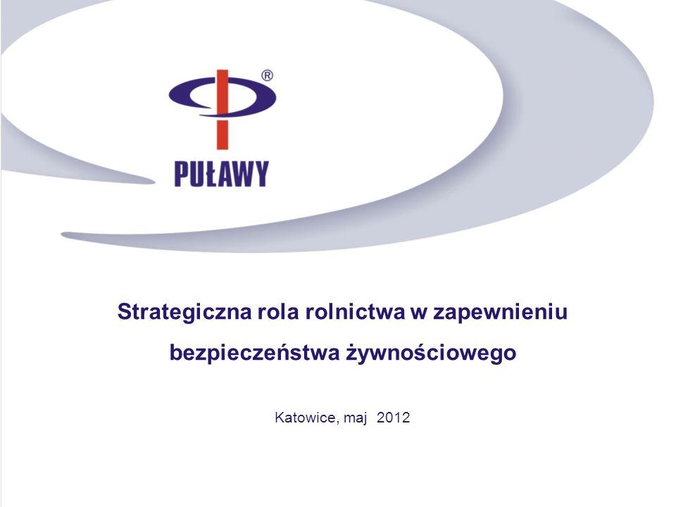 Strategiczna rola rolnictwa w zapewnieniu bezpieczeństwa żywnościowego