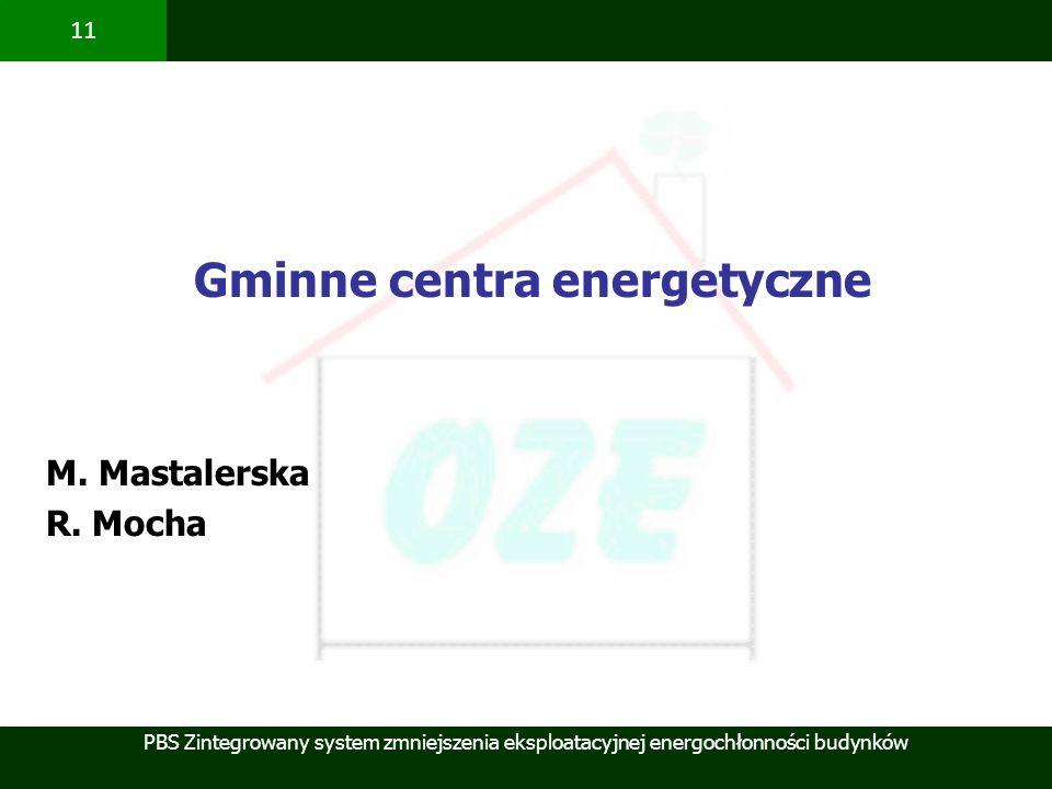 Gminne centra energetyczne