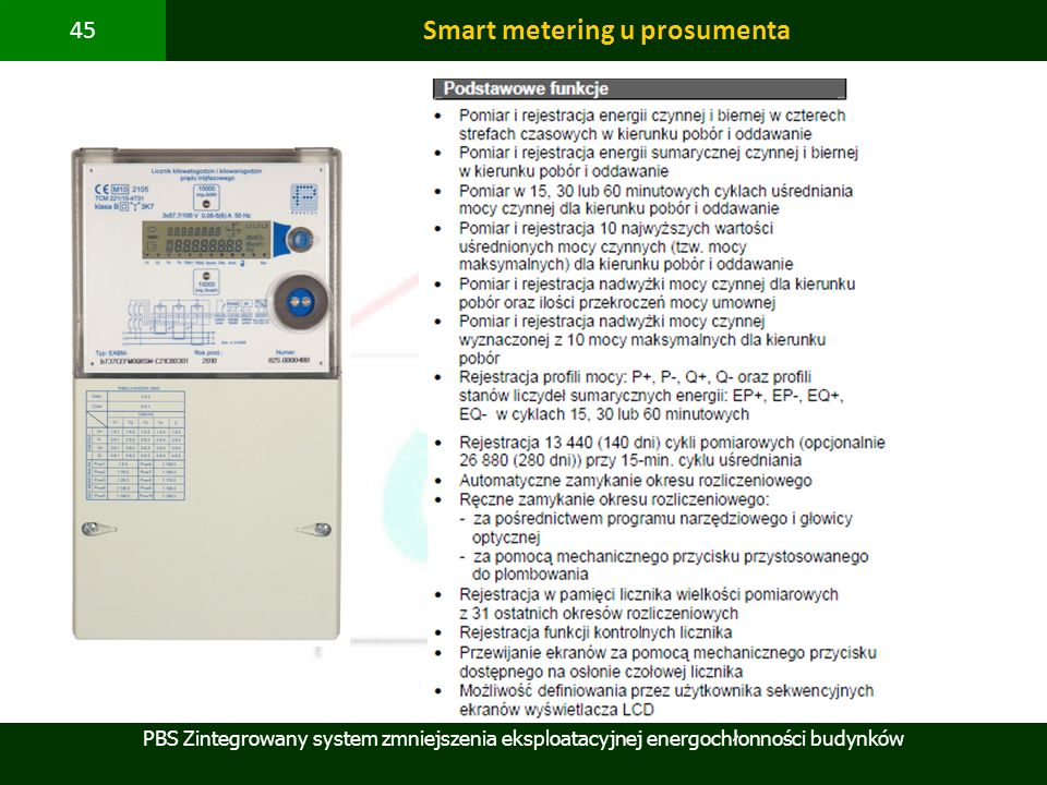 Smart metering u prosumenta