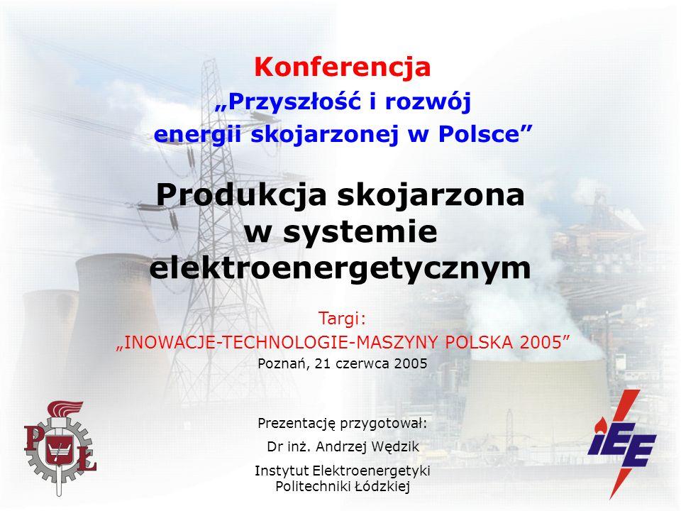 Produkcja skojarzona w systemie elektroenergetycznym