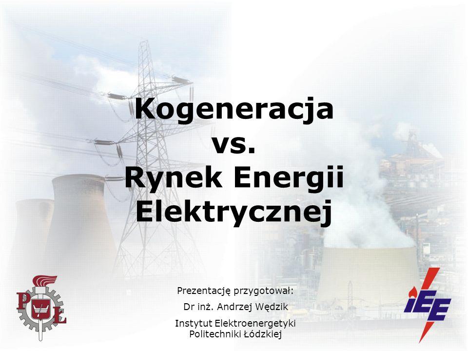 Kogeneracja vs. Rynek Energii Elektrycznej