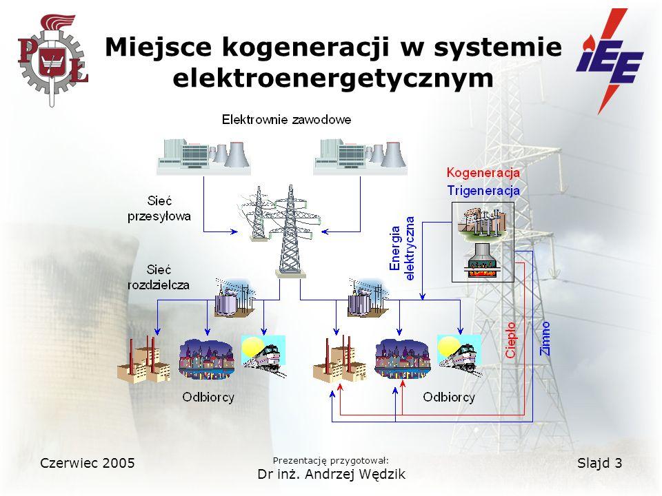 Miejsce kogeneracji w systemie elektroenergetycznym