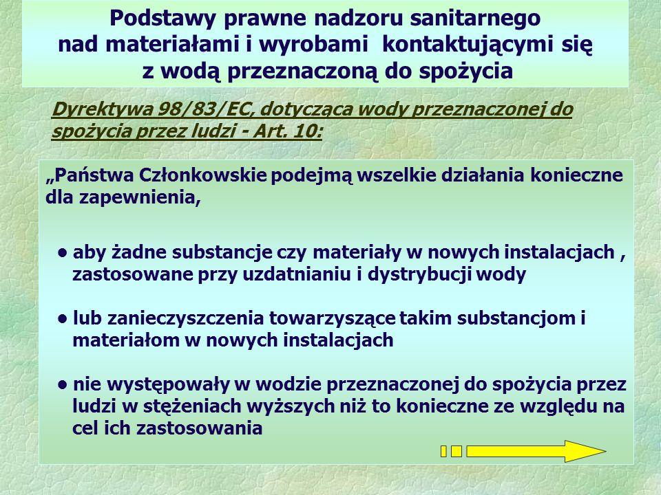 Podstawy prawne nadzoru sanitarnego