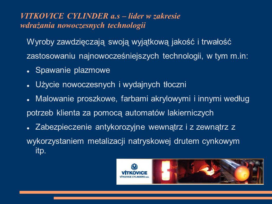 VITKOVICE CYLINDER a.s – lider w zakresie wdrażania nowoczesnych technologii
