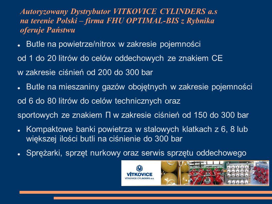 Autoryzowany Dystrybutor VITKOVICE CYLINDERS a
