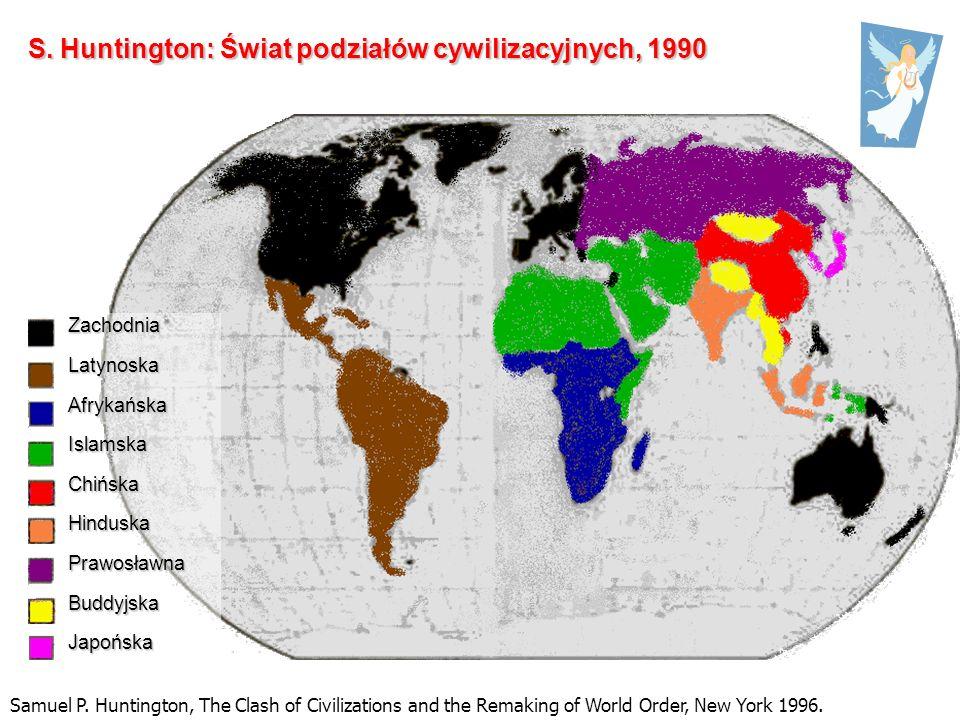 S. Huntington: Świat podziałów cywilizacyjnych, 1990