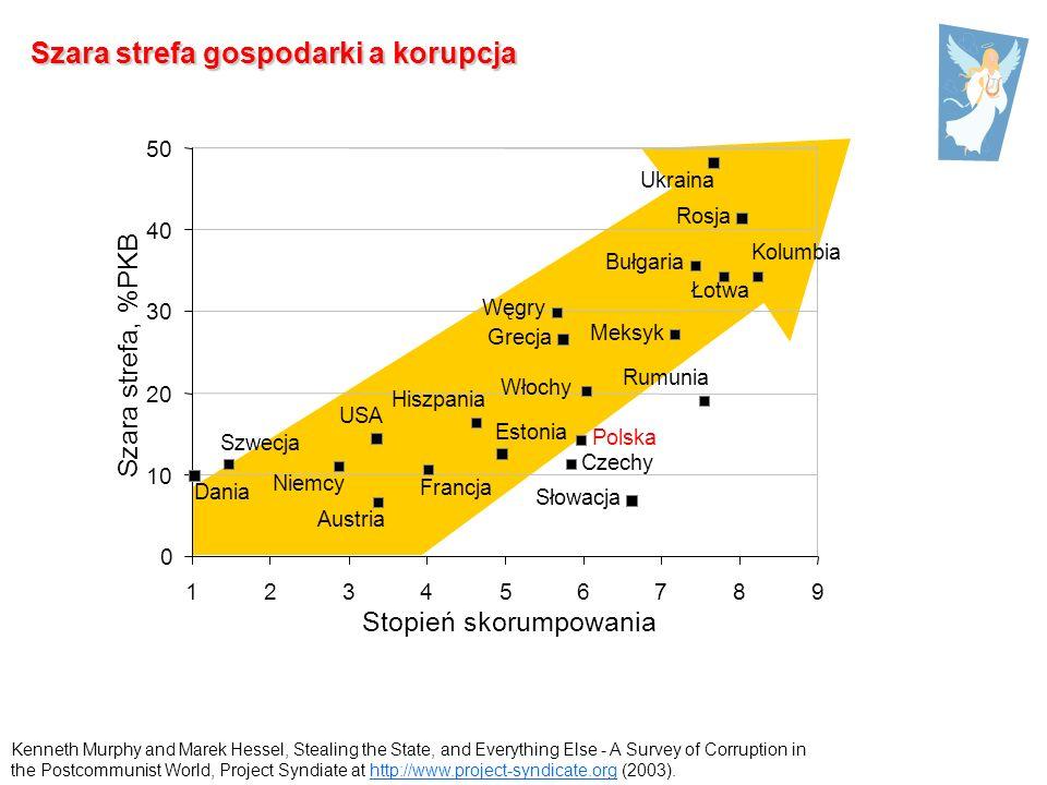 Szara strefa gospodarki a korupcja
