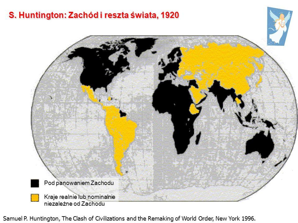 S. Huntington: Zachód i reszta świata, 1920