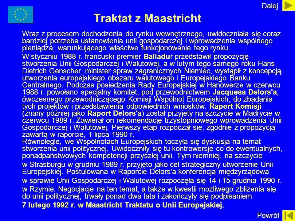 Dalej Traktat z Maastricht.