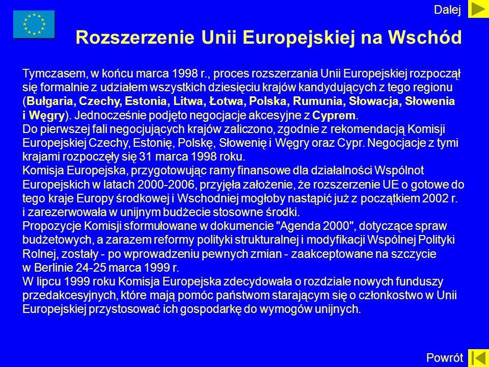 Rozszerzenie Unii Europejskiej na Wschód