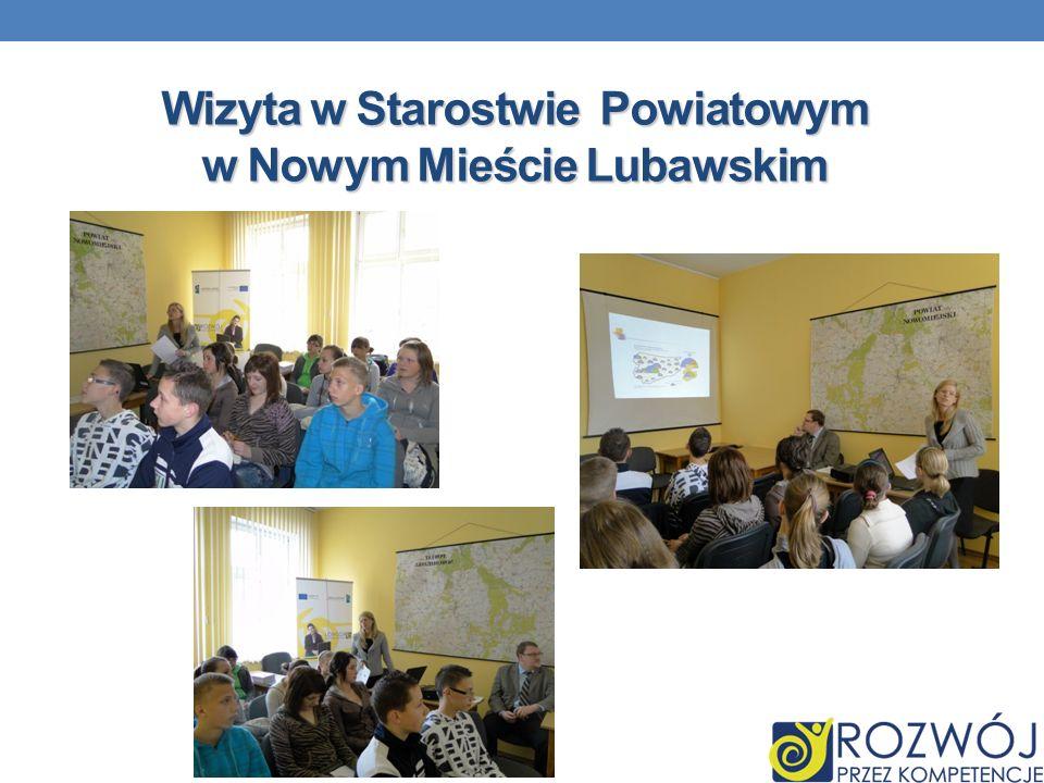 Wizyta w Starostwie Powiatowym w Nowym Mieście Lubawskim