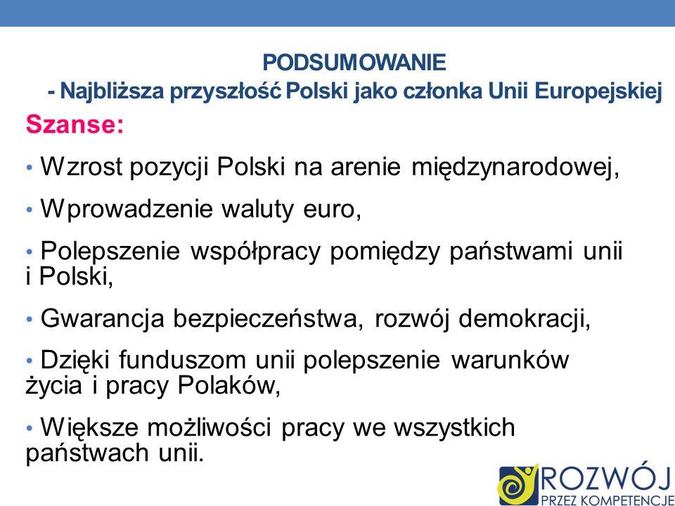 Wzrost pozycji Polski na arenie międzynarodowej,