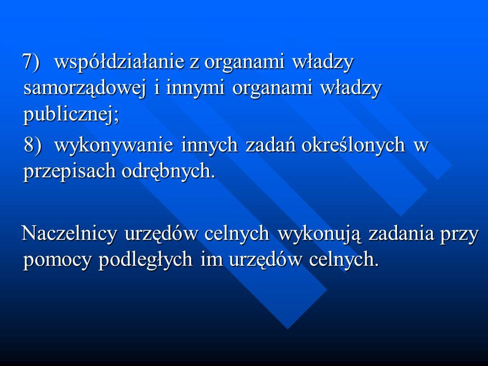 7) współdziałanie z organami władzy samorządowej i innymi organami władzy publicznej;