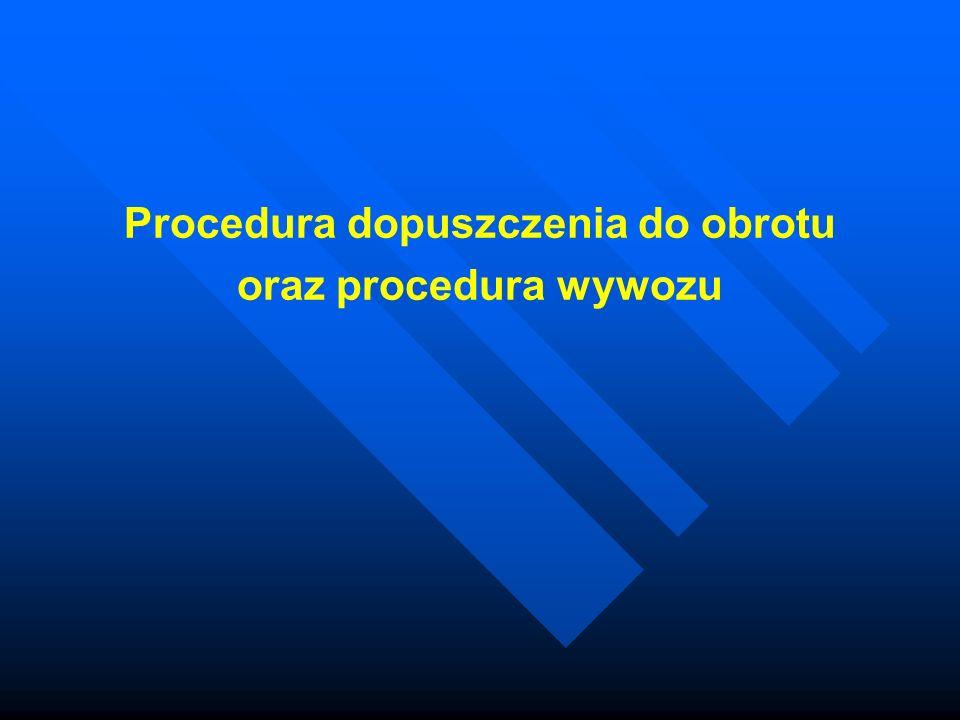 Procedura dopuszczenia do obrotu