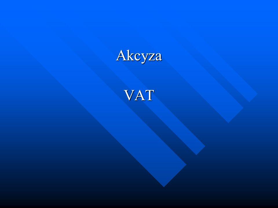 Akcyza VAT