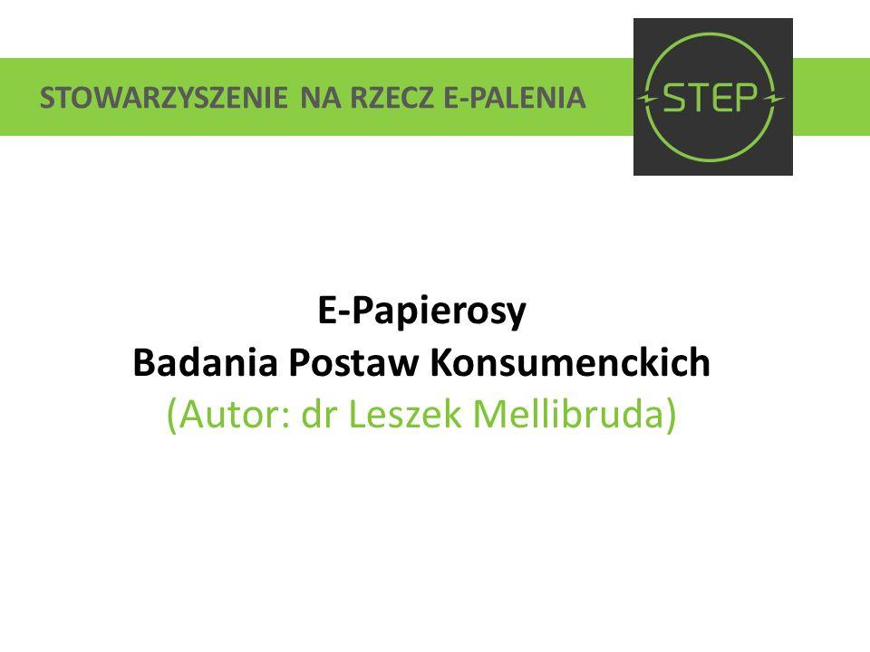 Badania Postaw Konsumenckich (Autor: dr Leszek Mellibruda)