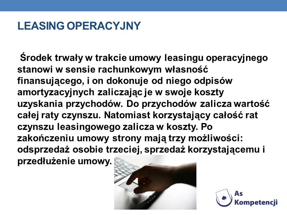 Leasing operacyjny