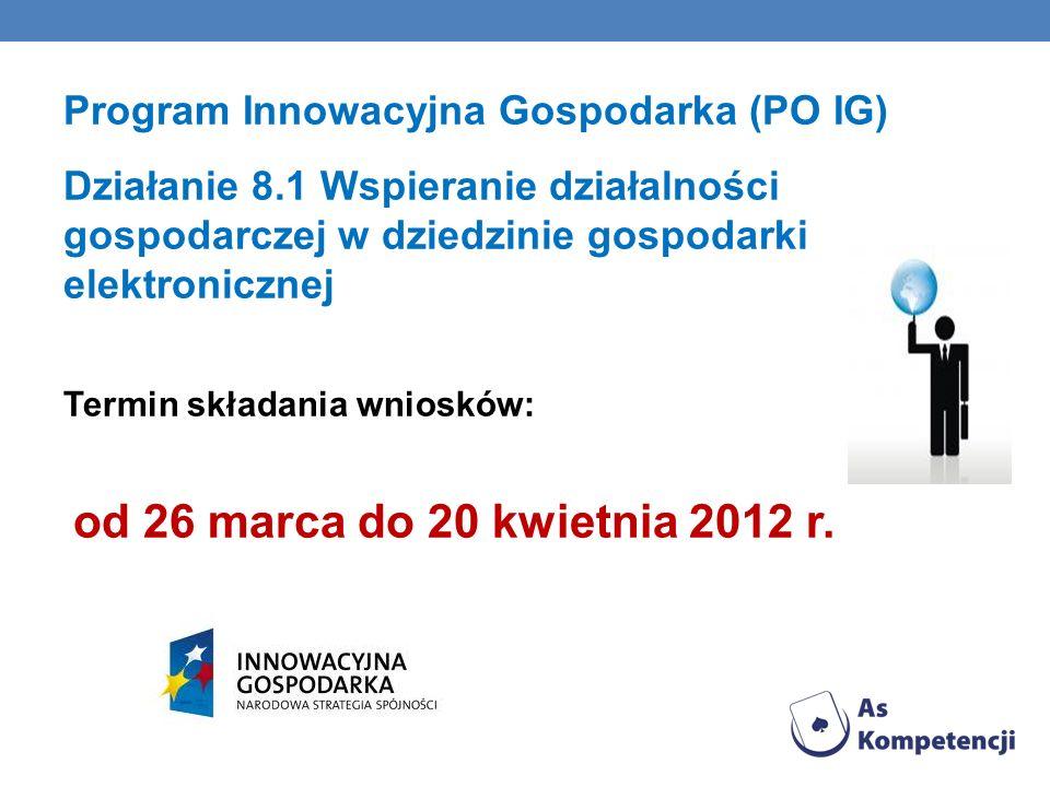 Program Innowacyjna Gospodarka (PO IG)