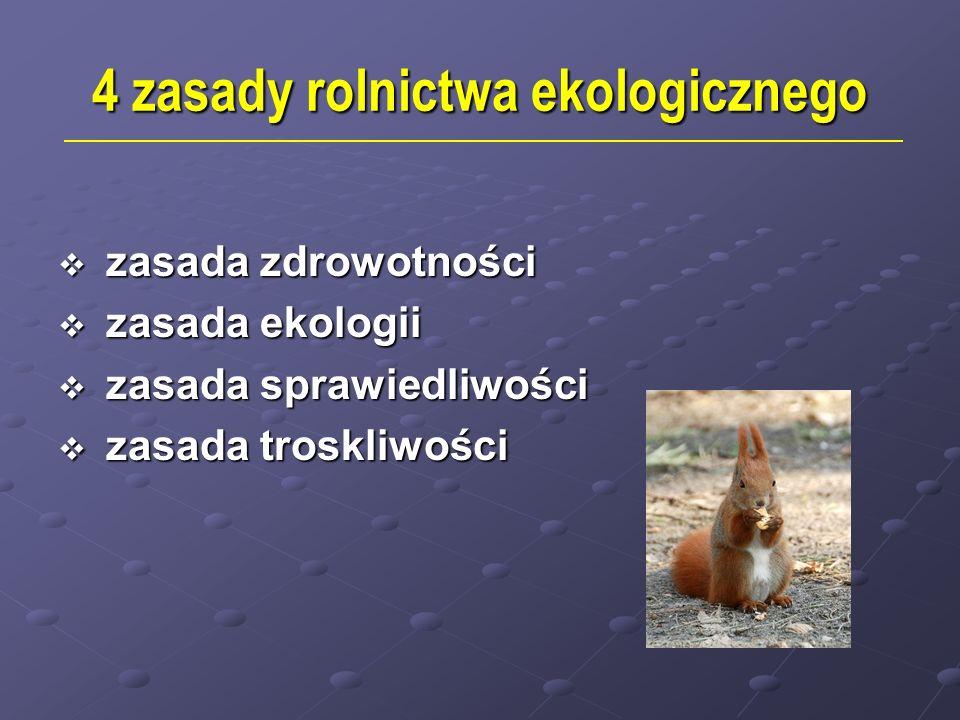 4 zasady rolnictwa ekologicznego