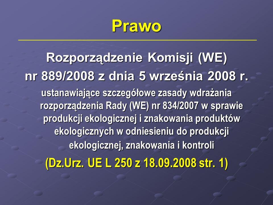 Rozporządzenie Komisji (WE)