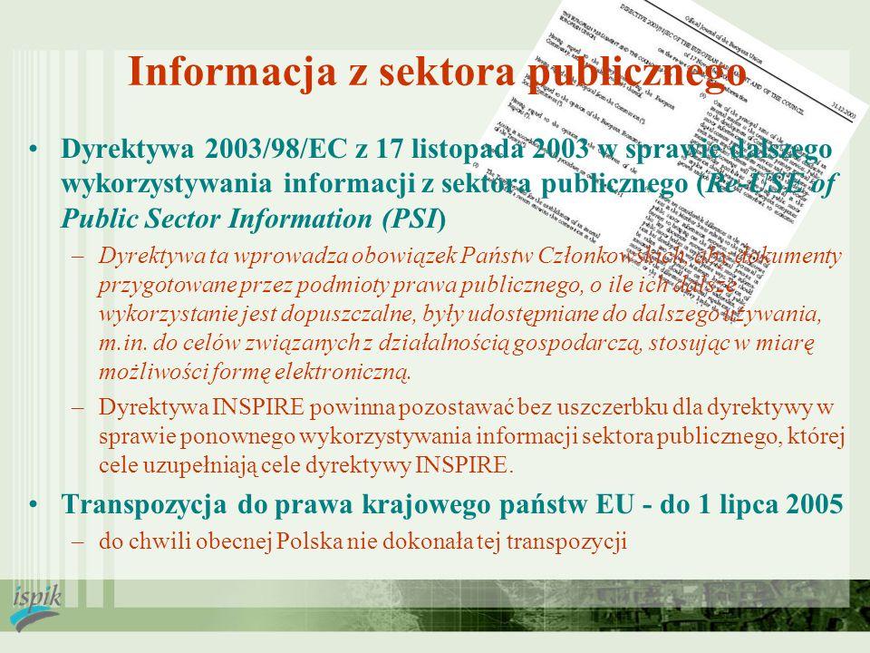 Informacja z sektora publicznego