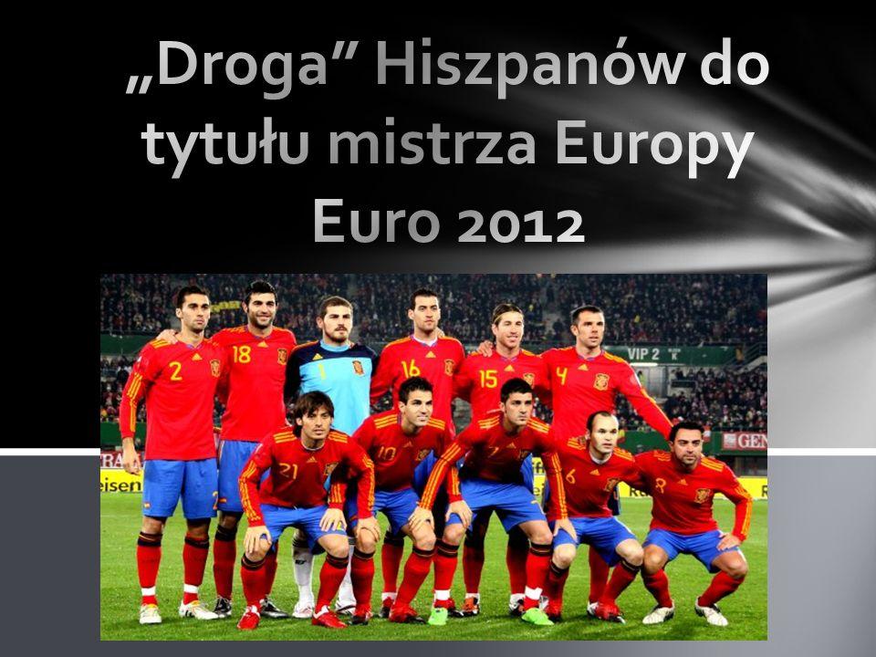 """""""Droga Hiszpanów do tytułu mistrza Europy Euro 2012"""