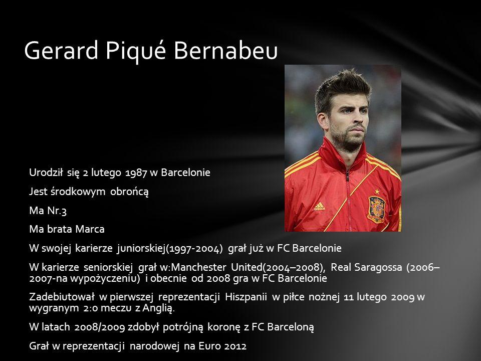 Gerard Piqué Bernabeu