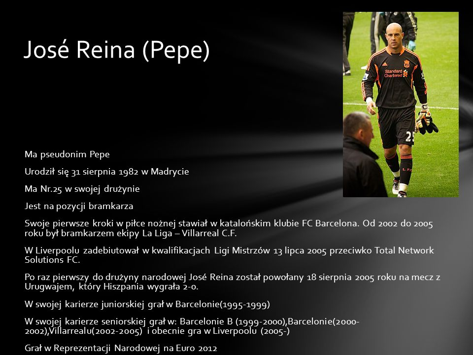 José Reina (Pepe)