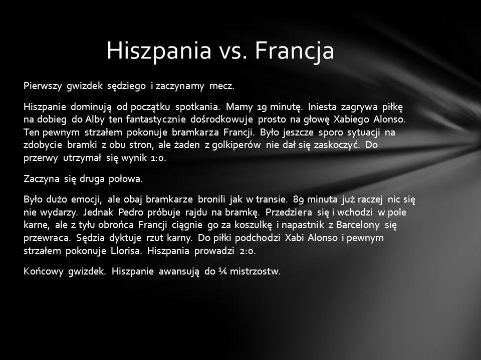 Hiszpania vs. Francja
