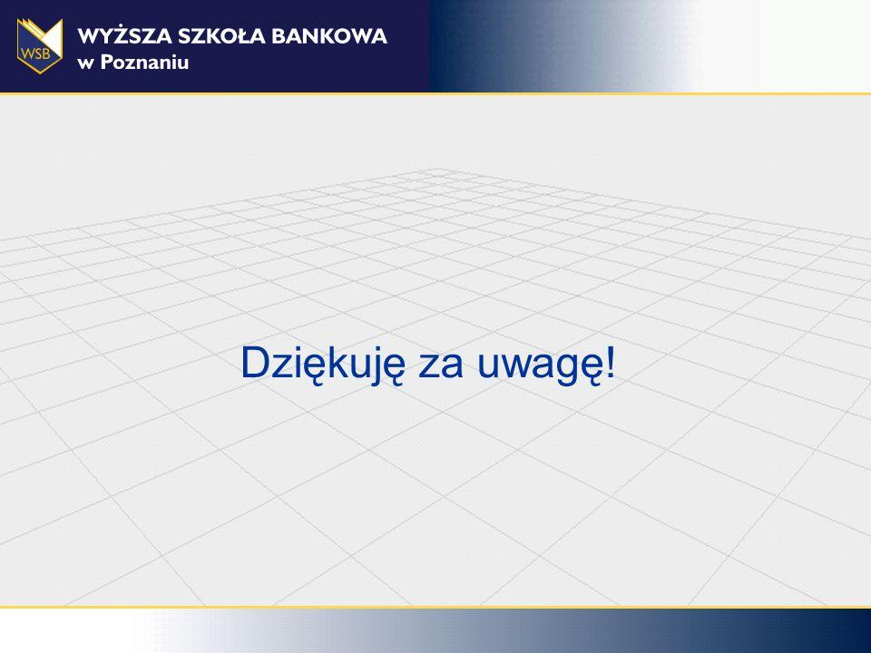 WSB Poznań 08.09.08 Dziękuję za uwagę!