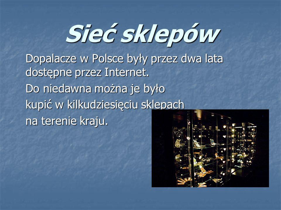 Sieć sklepów Dopalacze w Polsce były przez dwa lata dostępne przez Internet. Do niedawna można je było.