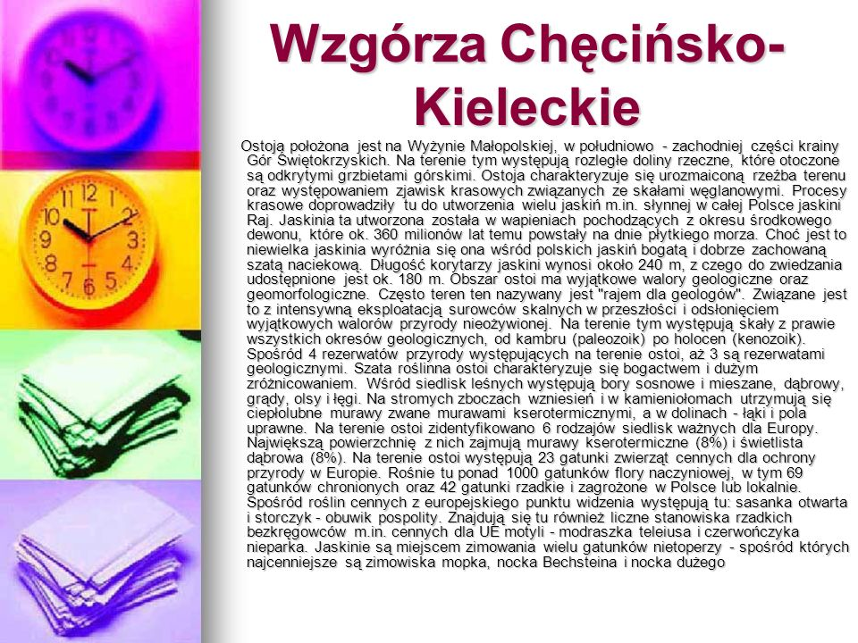 Wzgórza Chęcińsko-Kieleckie