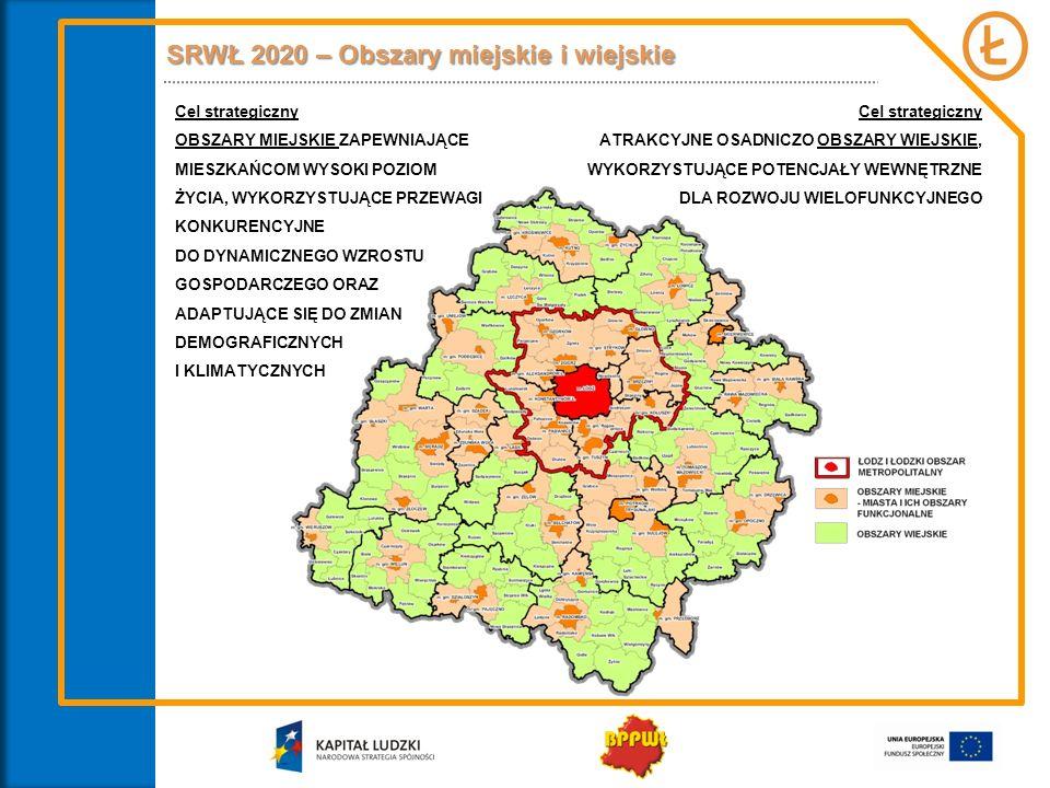 SRWŁ 2020 – Obszary miejskie i wiejskie