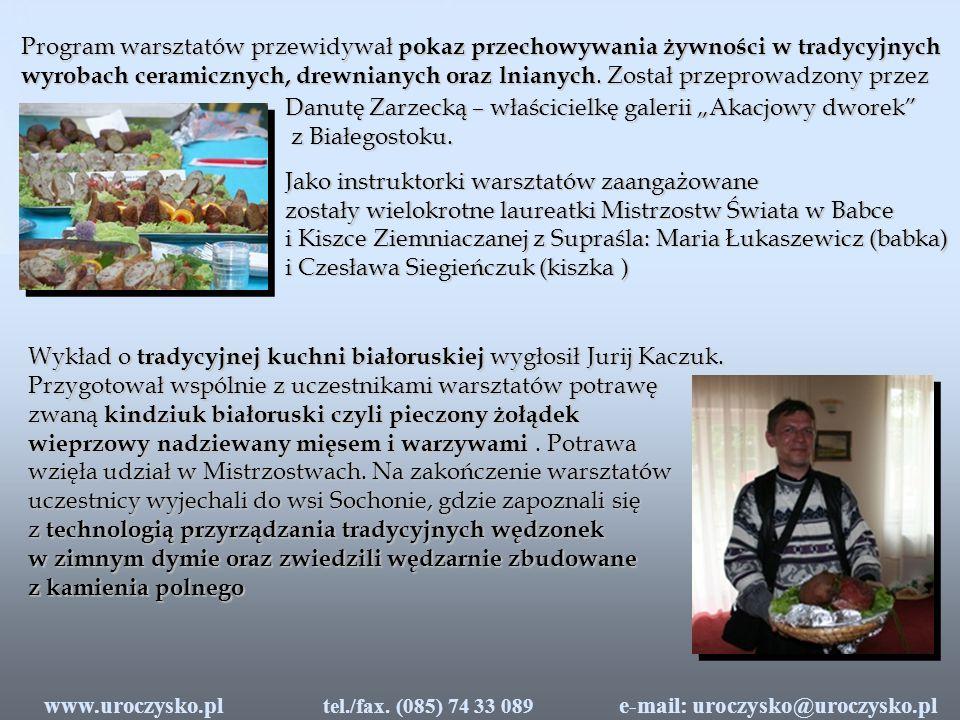 """Danutę Zarzecką – właścicielkę galerii """"Akacjowy dworek"""