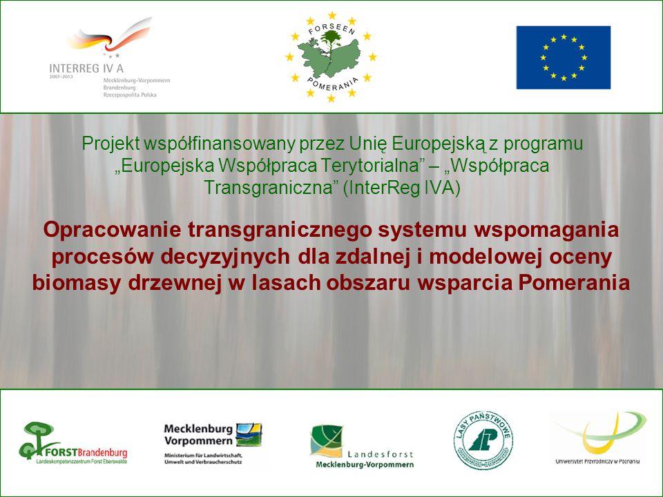"""Projekt współfinansowany przez Unię Europejską z programu """"Europejska Współpraca Terytorialna – """"Współpraca Transgraniczna (InterReg IVA)"""