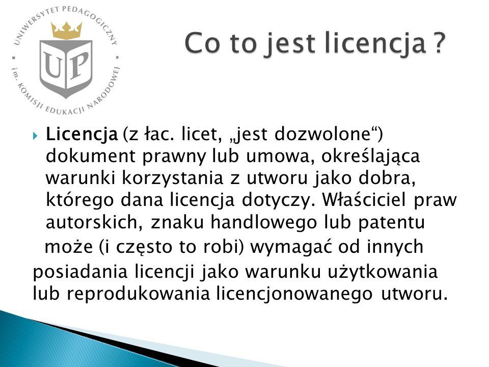 Co to jest licencja