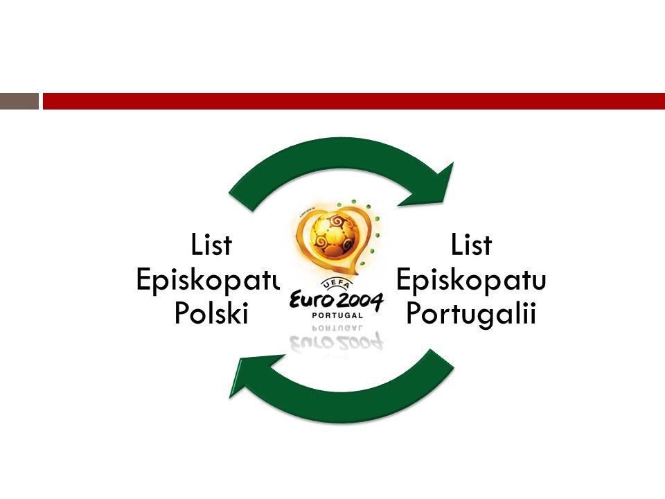 List Episkopatu Portugalii List Episkopatu Polski