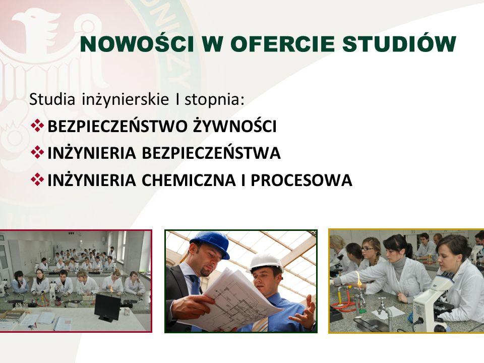 NOWOŚCI W OFERCIE STUDIÓW