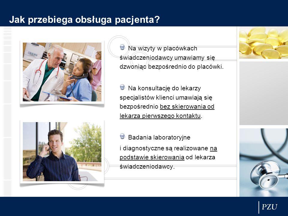 Jak przebiega obsługa pacjenta