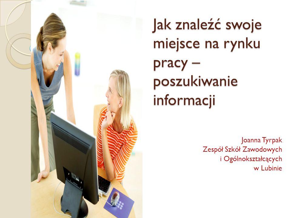 Jak znaleźć swoje miejsce na rynku pracy – poszukiwanie informacji