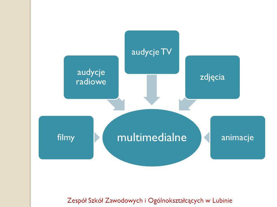 multimedialne filmy audycje radiowe audycje TV zdjęcia animacje
