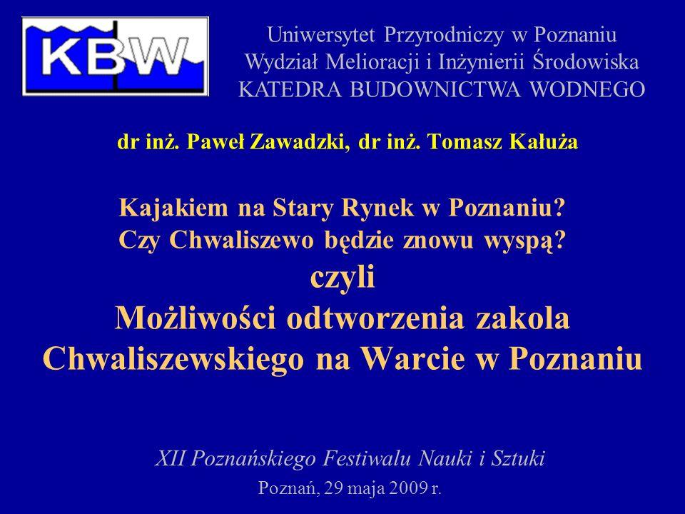 dr inż. Paweł Zawadzki, dr inż. Tomasz Kałuża