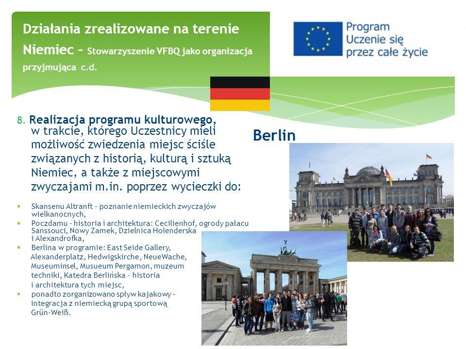 Berlin możliwość zwiedzenia miejsc ściśle