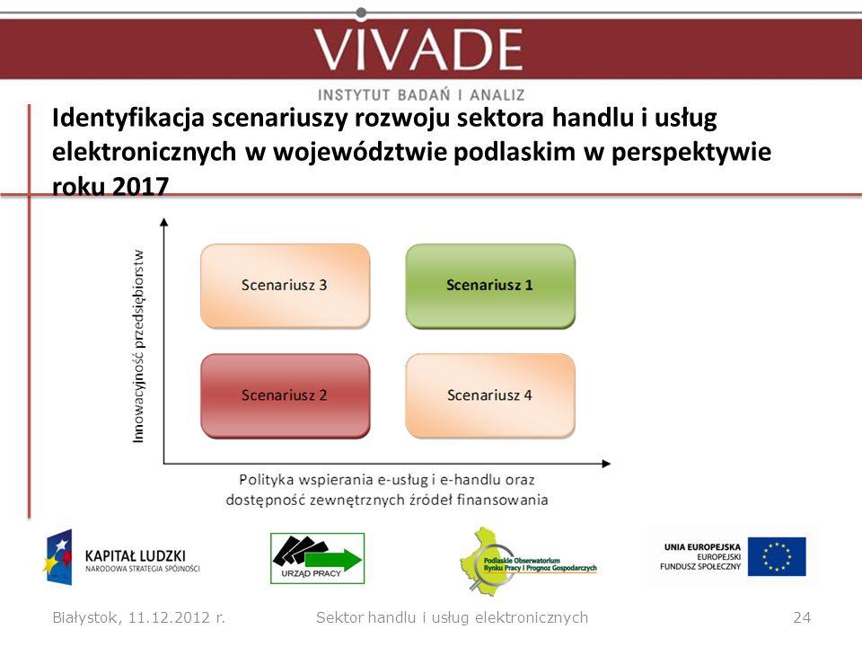 Sektor handlu i usług elektronicznych
