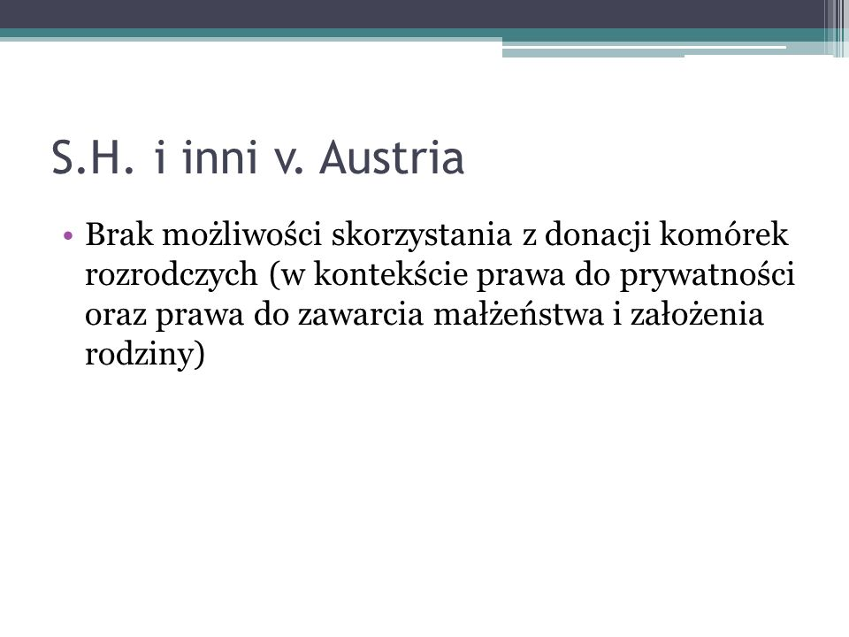 S.H. i inni v. Austria