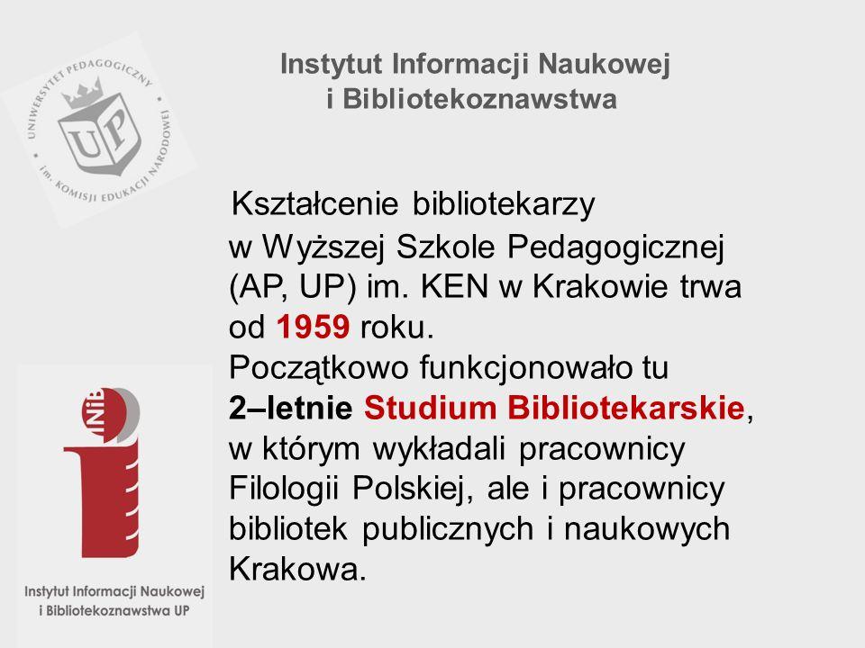 Instytut Informacji Naukowej i Bibliotekoznawstwa